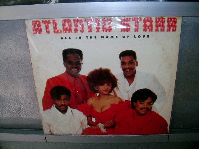 ATLANTIC STAR all the name of love LP 1987 SOUL MUSIC MUITO RARO VINIL