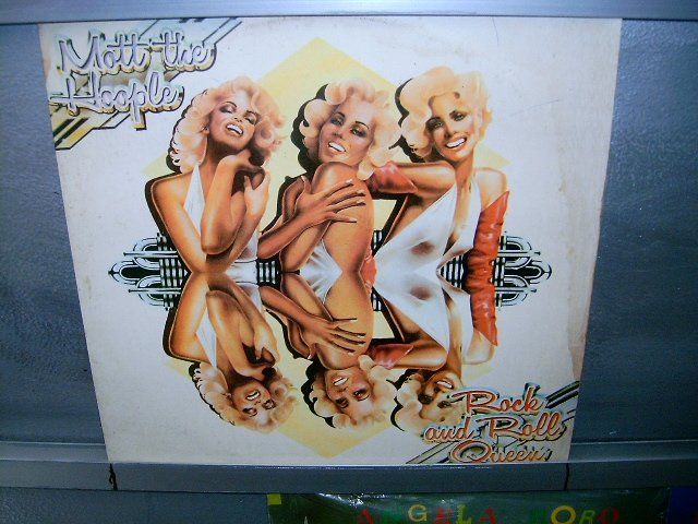 MOTT AND THE HOOPLE rock and roll queen LP 1973 ROCK MUIOT RARO VINIL
