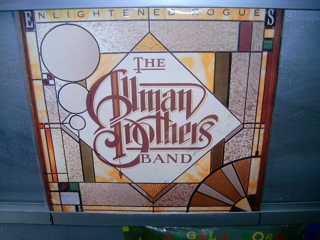 THE ALLMAN BROTHERS BAND enlightened rogues LP 1979 ROCK**