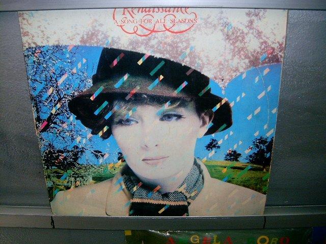 RENAISSANCE a song for all seasons LP 1978 ROCK MUITO RARO VINIL