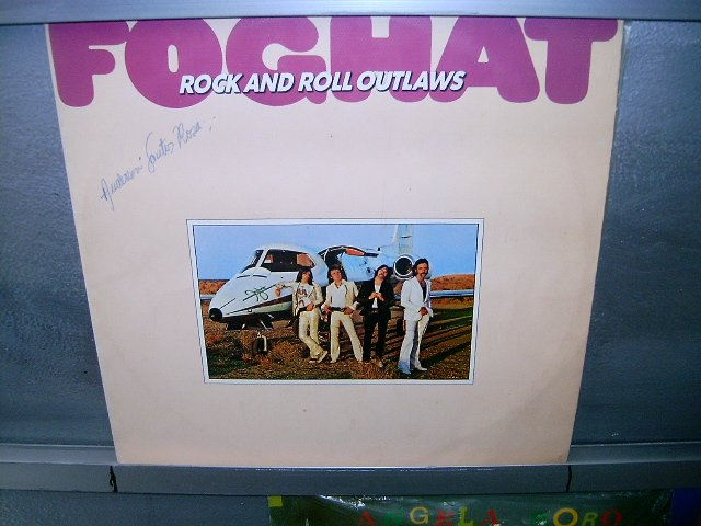 FOGHAT rock and roll outlaws LP 1975 ROCK EXCELENTE MUITO RARO VINIL