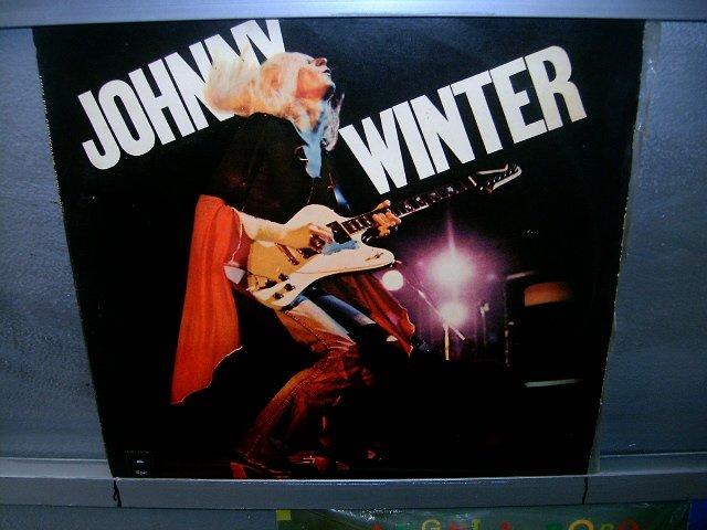 JOHNNY WINTER captured live LP 1976 ROCK SEMI-NOVO MUITO RARO VINIL