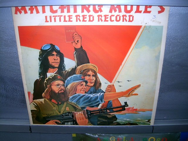 MATCHING MOLE matching mole's little red LP 1972 ROCK SEMI-NOVO MUITO RARO VINIL