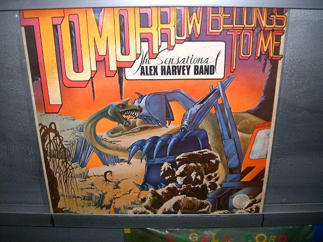 THE SENSATIONAL ALEX HARVEY BAND tomrrow belongs to me LP 1975 ROCK MUITO RARO VINIL