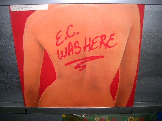 ERIC CLAPTON e.c. was here LP 1975 ROCK EXCELENTE MUITO RARO VINIL