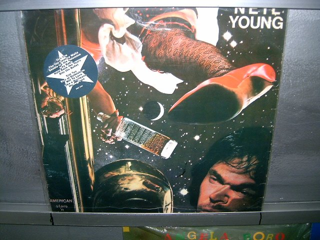 NEIL YOUNG AND THE CRAZY HORSE american stars n' bars LP 1977 ROCK**