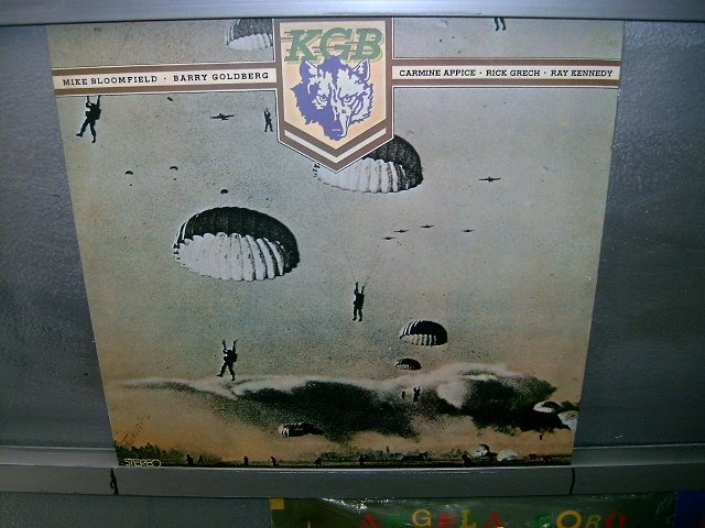 KGB kgb LP 1976 ROCK SEMI-NOVO MUITO RARO VINIL