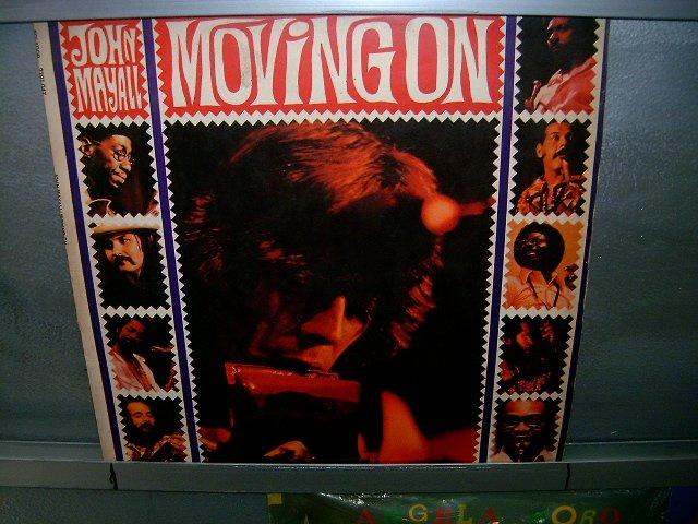 JOHN MAYALL moving on LP 1972 ROCK MUITO RARO VINIL