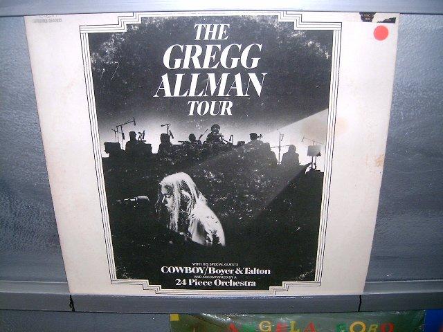 GREGG ALLMAN the gregg allman tour LP 1974 ROCK**
