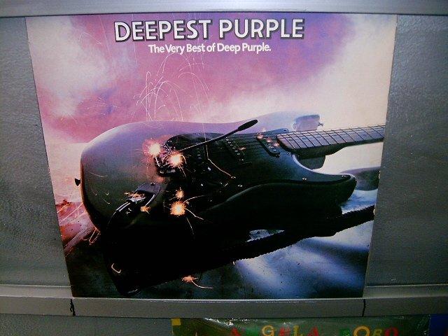 DEEP PURPLE the very best of deep purple LP 1980 ROCK SEMI-NOVO MUITO RARO VINIL