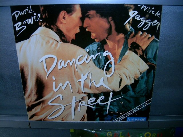 MICK JAGGER AND DAVID BOWIE mick jagger and bowie LP 1985 ROCK*