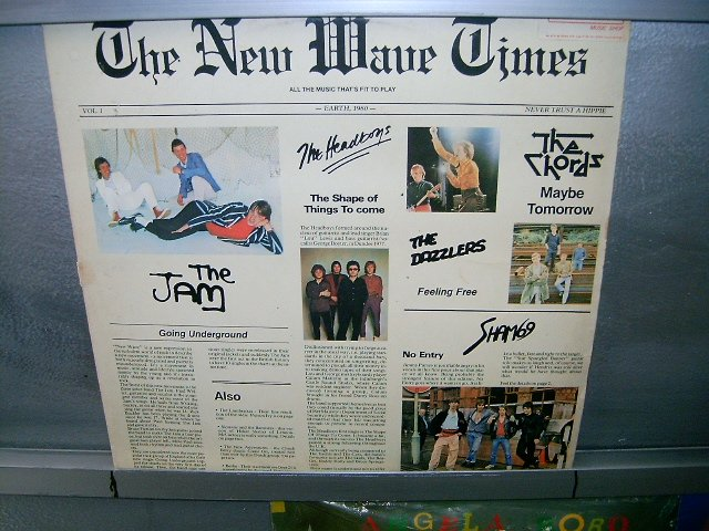THE NEW WAVE TIMES the new wave times LP 1980 ROCK**