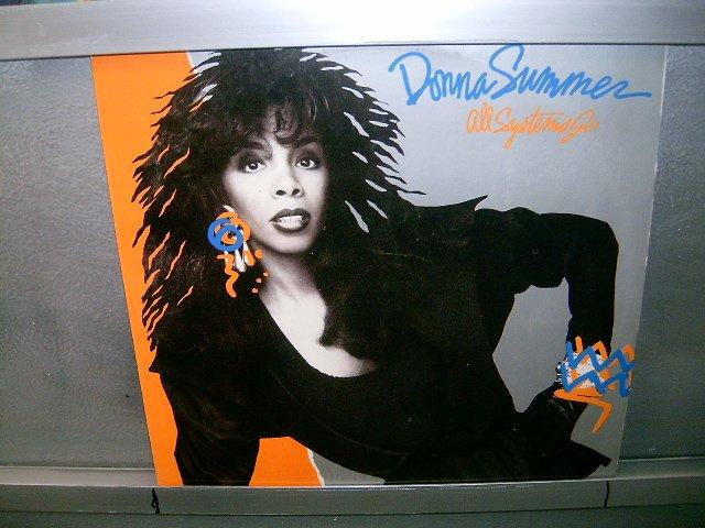 DONNA SUMMER all systems go LP 1987 BLACK MUSIC EXCELENTE MUITO RARO VINIL