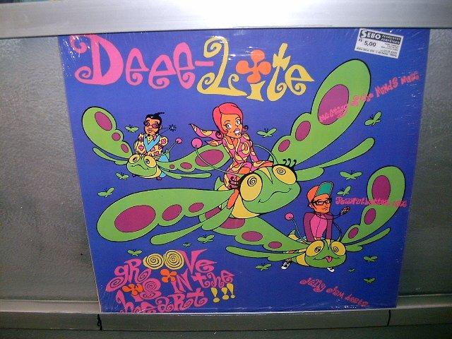 DEE LITE grooves is in the heart LP 1990 BLACK MUSIC MUITO RARO VINIL