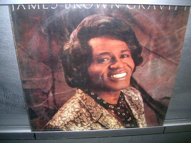 JAMES BROWN gravity LP 1986 SOUL MUSIC EXCELENTE MUITO RARO VINIL