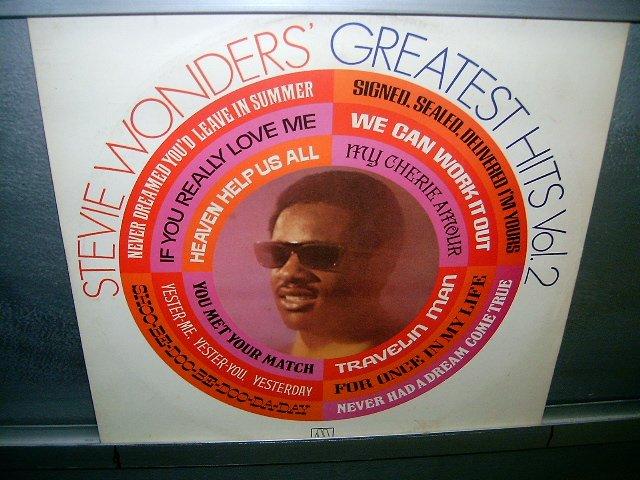 STEVIE WONDER greatest hits vol.2 LP 1981 BLACK MUSIC SEMI-NOVO MUITO RARO VINIL