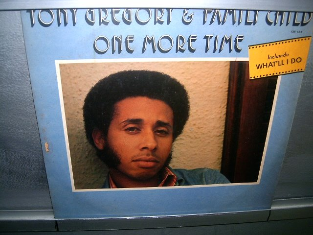 TONY GREGORY AND FAMILY CHILD LP 1974 BLACK MUSIC EXCELENTE MUITO RARO VINIL