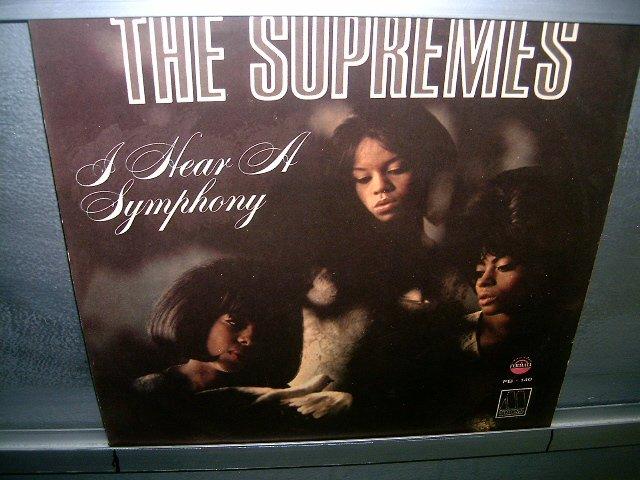 THE SUPREMES i hear a symphony LP 196? BLACK MUSIC EXCELENTE MUITO RARO VINIL