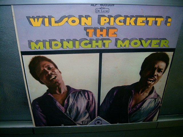 WILSON PICKET the midnight mover LP 1968 BLACK MUSIC MUITO RARO VINIL