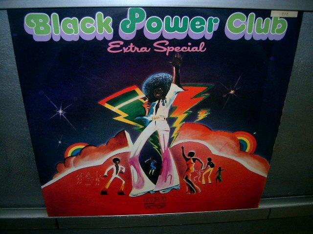 BLACK POWER CLUB extra special LP 1977 BLACK MUSIC SEMI-NOVO MUITO RARO VINIL