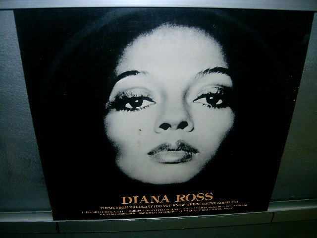 DIANA ROSS diana ross LP 1976 BLACK MUSIC SEMI-NOVO MUITO RARO VINIL