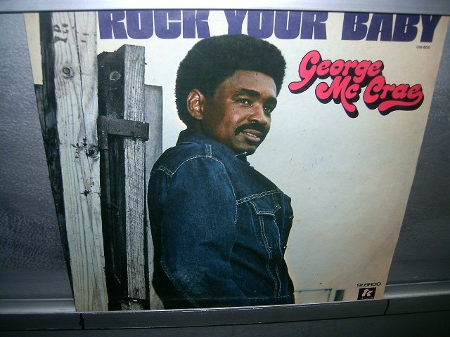 GEORGE MCCRAE rock your baby LP 1974 BLACK MUSIC MUITO RARO VINIL