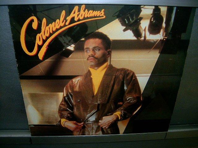 COLONEL ABRAMS colonel abrams LP 1986 BLACK MUSIC MUITO RARO VINIL