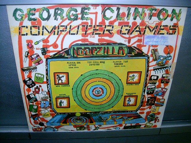 GEORGE CLINTON computer games LP 1982 FUNK 70'S MUITO RARO VINIL