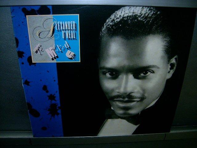 ALEXANDER O'NEAL all mixed up LP 1985 BLACK MUSIC EXCELENTE MUITO RARO VINIL