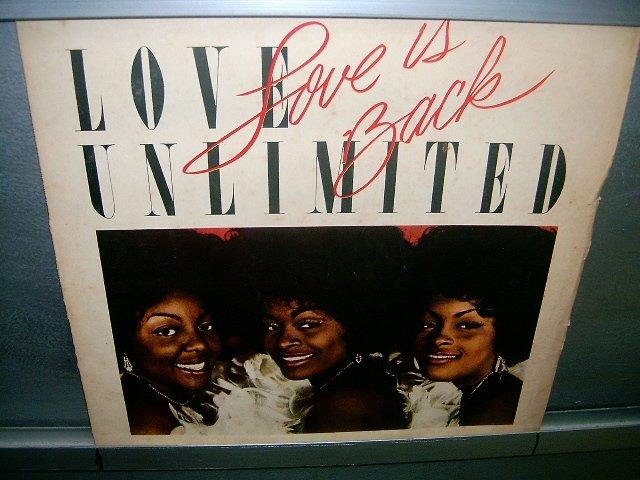 LOVE UNLIMITED love is back LP 1979 BLACK MUSIC MUITO RARO VINIL