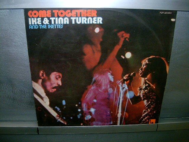 IKE AND TINA TURNER AND THE IKETTES come together LP 1970 BLACK MUSIC MUITO RARO VINIL