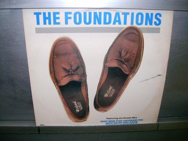 THE FOUNDATIONS the best of the foundations LP 1989 BLACK MUSIC EXCELENTE MUITO RARO VINIL