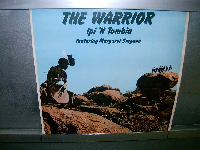 IPI'N TOMBIA & MARGARET SINGANA the warrior LP 1974 BLACK MUSIC VERY RARE VINYL