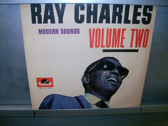 RAY CHARLES modern sounds volume 2 LP 1962 BLACK MUSIC MUITO RARO VINIL