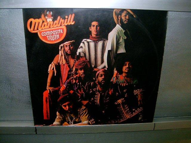 MANDRILL composite truth LP 1973 BLACK MUSIC MUITO RARO VINIL