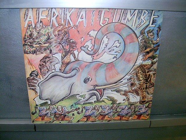 AFRIKA GUMBE afrika gumbe LP 198? BLACK MUSIC EXCELENTE MUITO RARO VINIL