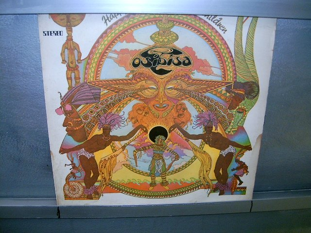 OSIBISA happy children LP 1974 BLACK MUSIC EXCELENTE MUITO RARO VINIL