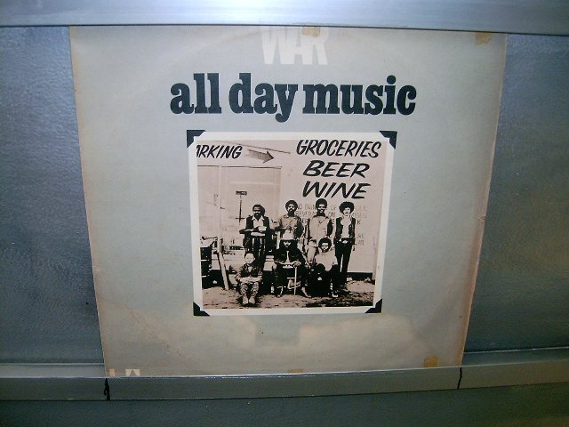 WAR all day music LP 1971 BLACK MUSIC MUITO RARO VINIL
