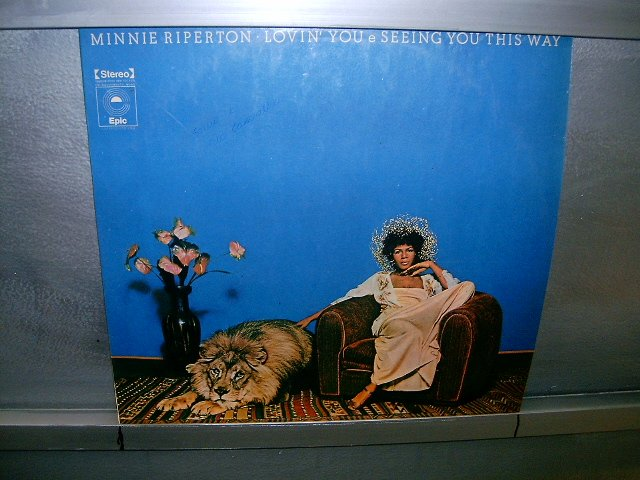 MINNIE RIPERTON Adventures In Paradise LP 1975 BLACK MUSIC EXCELENTE MUITO RARO VINIL