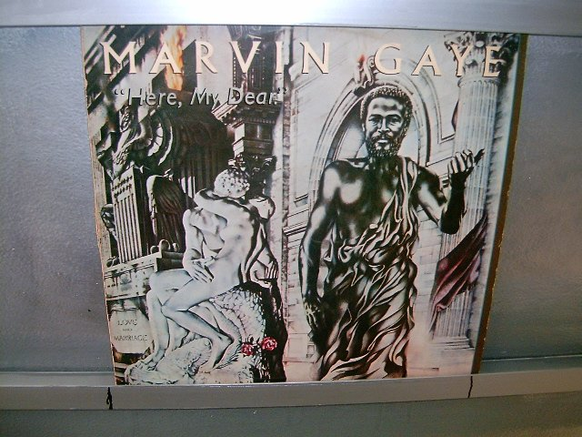 MARVIN GAYE here,my dear LP 1978 BLACK MUSIC MUITO RARO VINIL