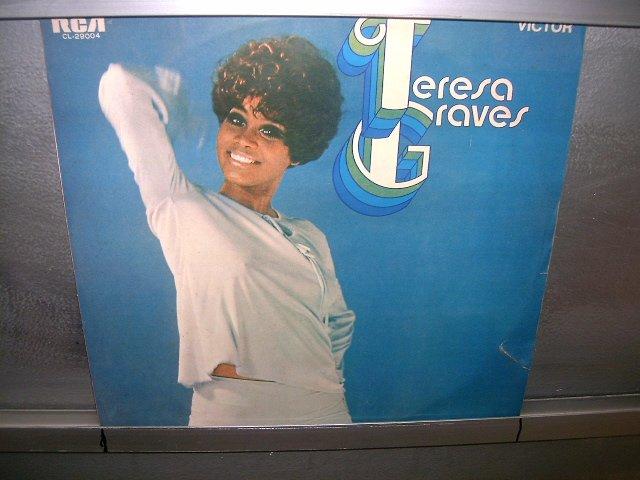 TERESA GRAVES teresa graves LP 1970 BLACK MUSIC SEMI-NOVO MUITO RARO VINIL