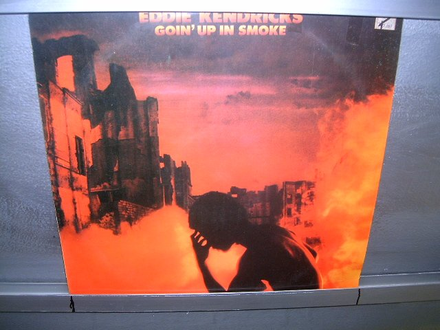 EDDIE KENDRICKS goin 'up in smoke LP 1976 BLACK MUSIC EXCELENTE MUITO RARO VINIL