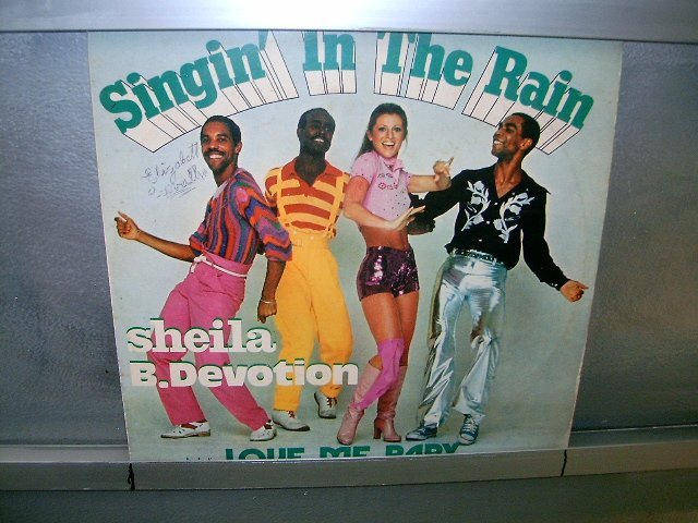 SHEILA B. DEVOTION singin' in the rain LP 1978 BLACK MUSIC MUITO RARO