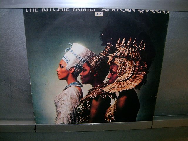 RICHIE FAMILY Afrikan Queens LP 1977 BLACK MUSIC MUITO RARO VINIL