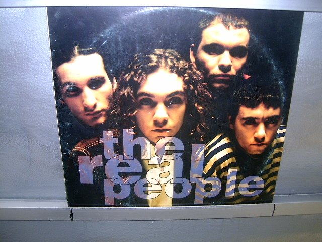 THE REAL PEOPLE the real people LP 1991 ALTERNATIVO SEMI-NOVO MUITO RARO VINIL