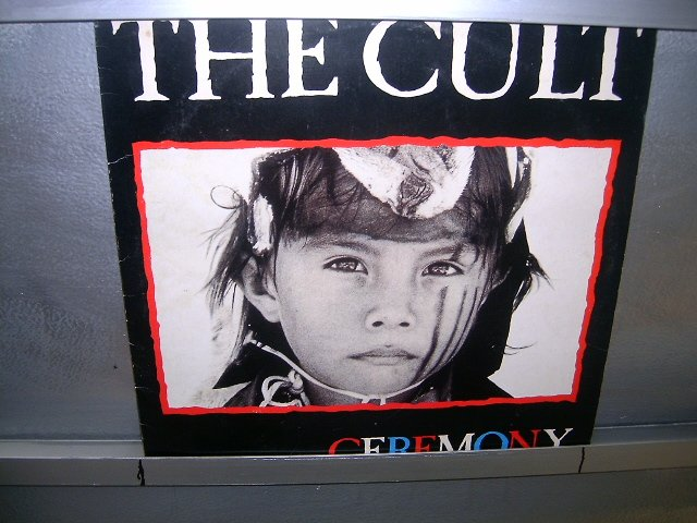 THE CULT ceremony LP 1991 HARD ROCK EXCELENTE MUITO RARO VINIL