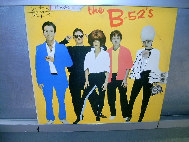 THE B-52'S S/T LP 1980 NEW WAVE EXCELENTE MUITO RARO VINIL