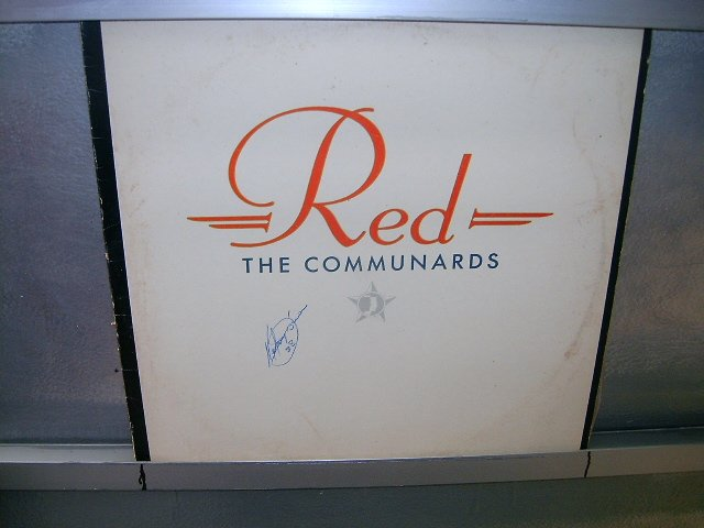 THE COMMUNICARDS red LP 1987 ALTERNATIVO EXCELENTE MUITO RARO VINIL