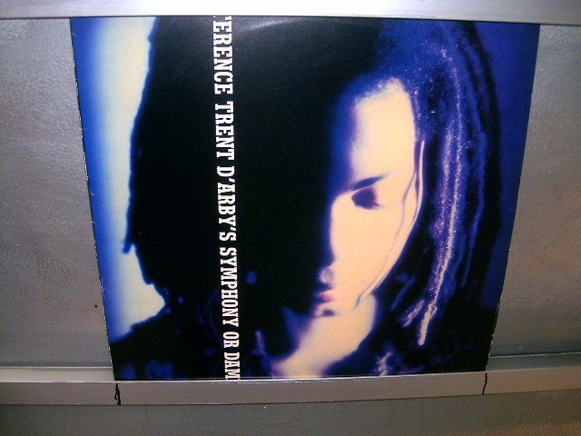 TERENCE TRENT D'ARBY'S symphony or dawn LP + COMPACTO 1993 POP SEMI-NOVO MUITO RARO VINIL