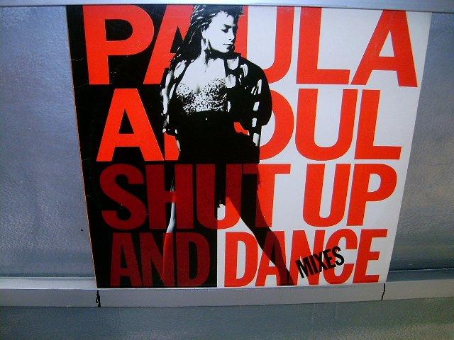 PAULA ABDUL shut up and dance LP 1990 POP EXCELENTE MUITO RARO VINIL